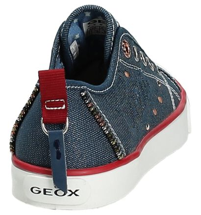 Instappers Geox Wit, Blauw, pdp