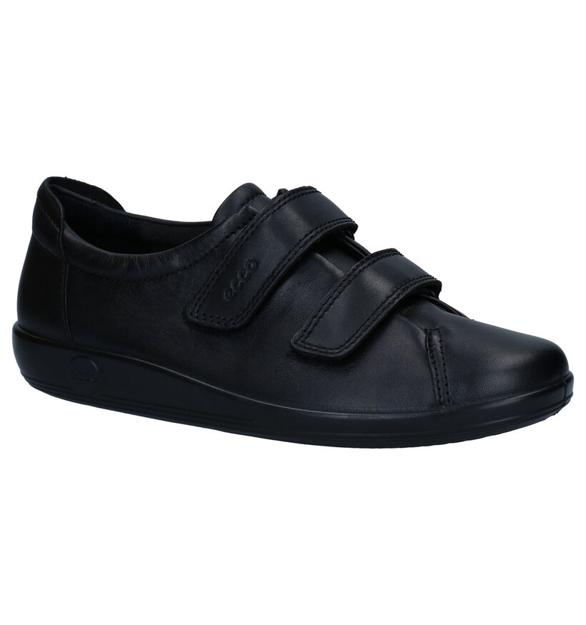 Soft Chaussures basses en Noir en cuir (254219)