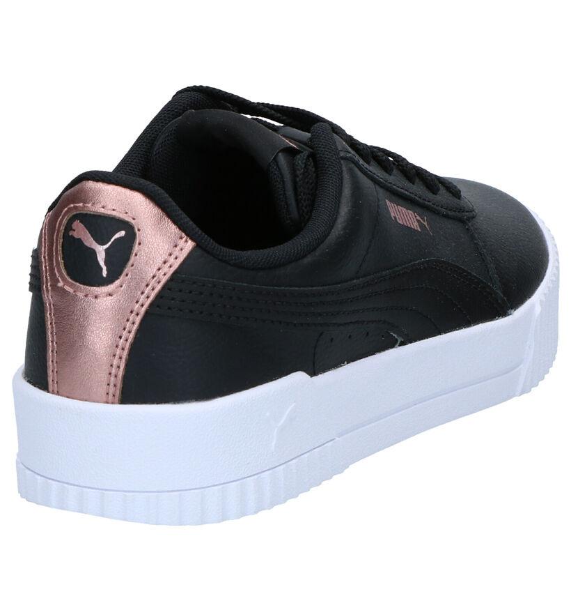 Puma Carina Baskets en Noir en cuir (265524)