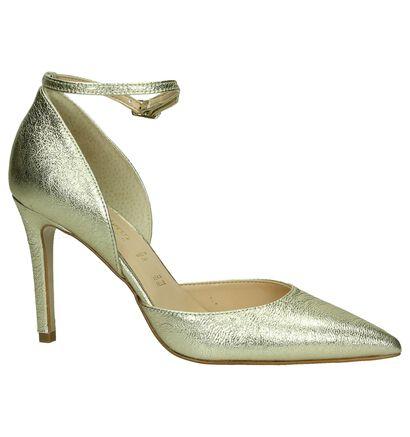 Les Autres Gouden Pump High Heels, Goud, pdp