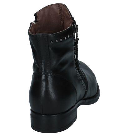 Zwarte Stoere Boots NeroGiardini met Studs in leer (226515)
