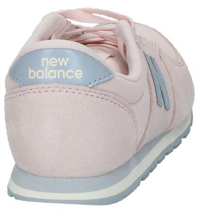 9dbb1544dc63 New Balance Baskets basses (Rose clair)
