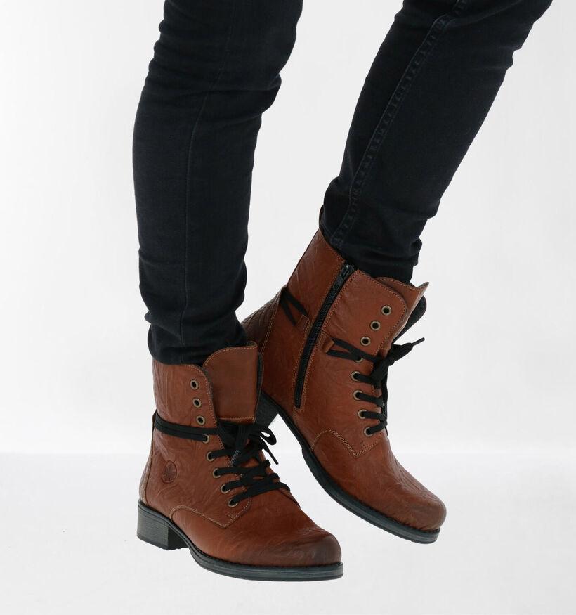 Rieker Zwarte Boots (282730)