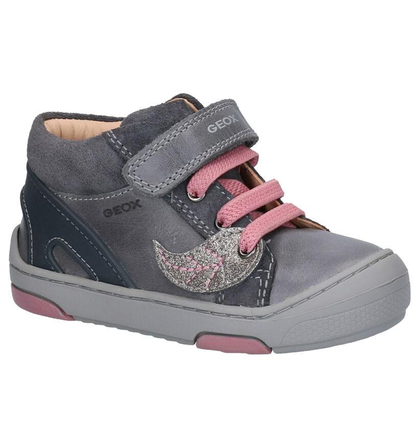 Geox Chaussures pour bébé  en Rose clair en cuir (254496)