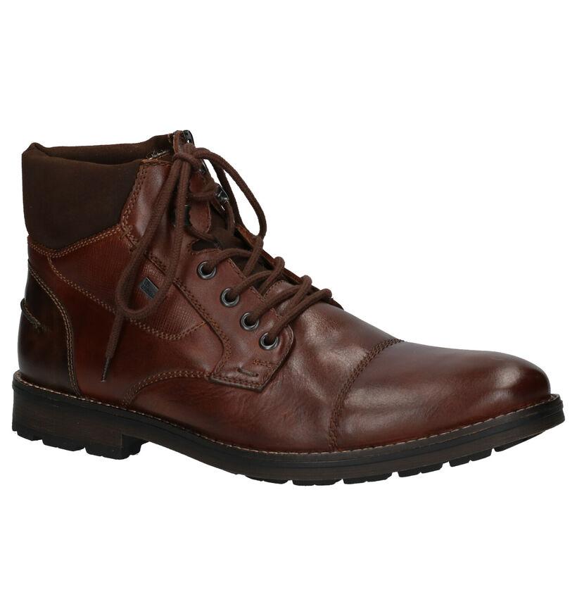 Rieker Chaussures hautes en Brun foncé en cuir (262178)