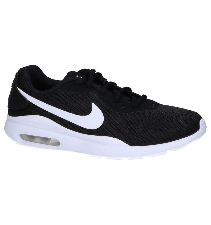 Zwarte Sneakers Nike Air Max Oketo in stof (249787)