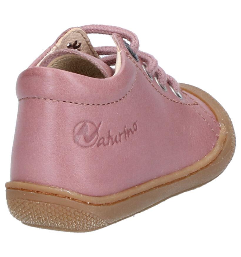 Naturino Cocoon Chaussures bébé en Écru en cuir (286266)