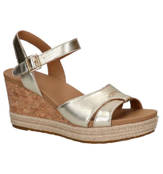 UGG Cloverdale Gouden sandalen