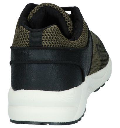 Zwarte Lage Sneakers Bullboxer in kunstleer (240643)