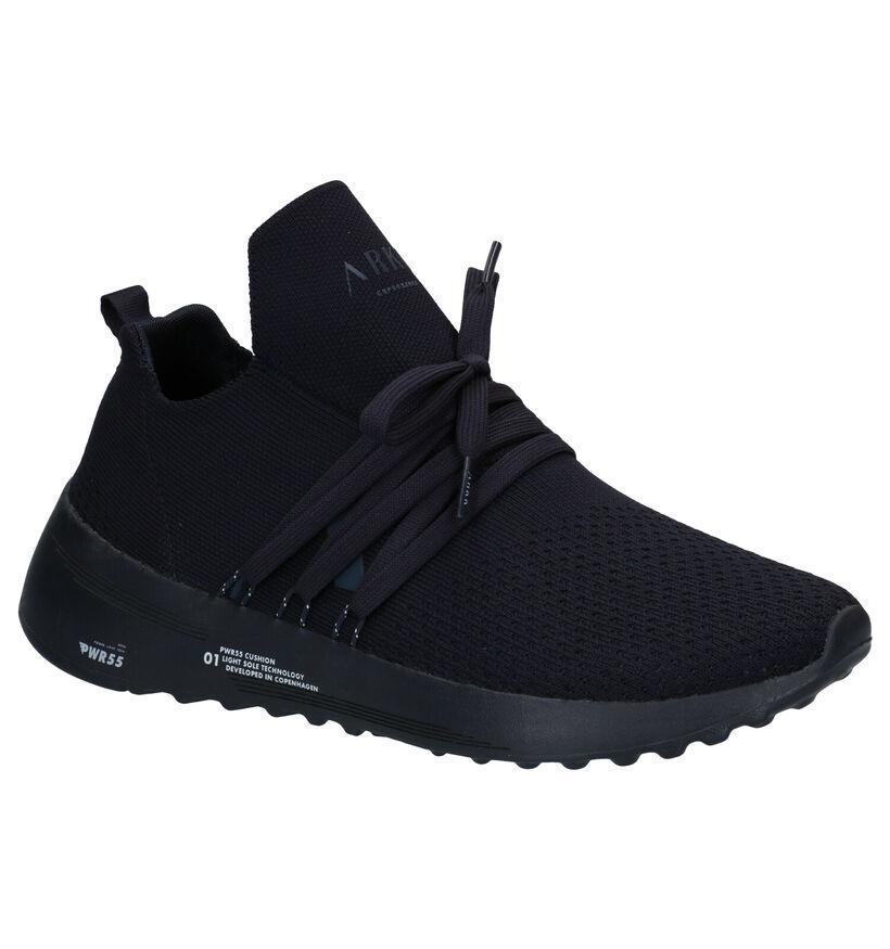 Arkk Raven FG 2.0 Blauwe Sneakers in stof (275866)
