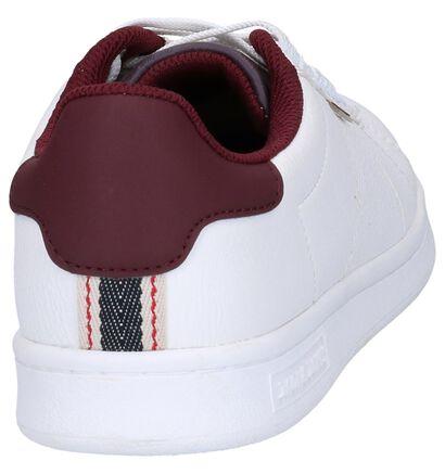 Witte Sneakers Jack & Jones Bane PU in kunstleer (252830)
