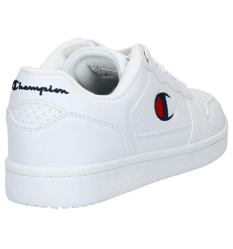 Champion Chicago Low Baskets en Blanc en simili cuir (278592)
