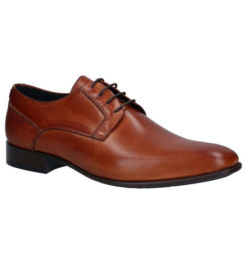 Via Borgo Chaussures habillées en Cognac en cuir (273000)