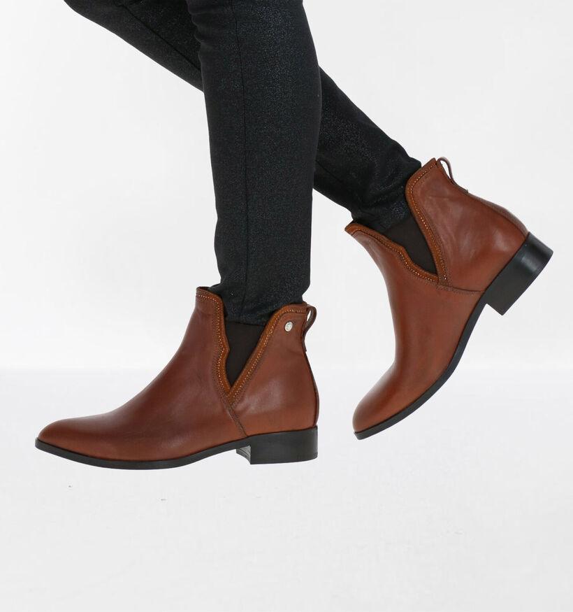 NeroGiardini Chelsea Boots en Noir en cuir (283185)