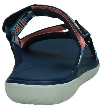 Blauwe Slippers Teva Terra Float, Blauw, pdp