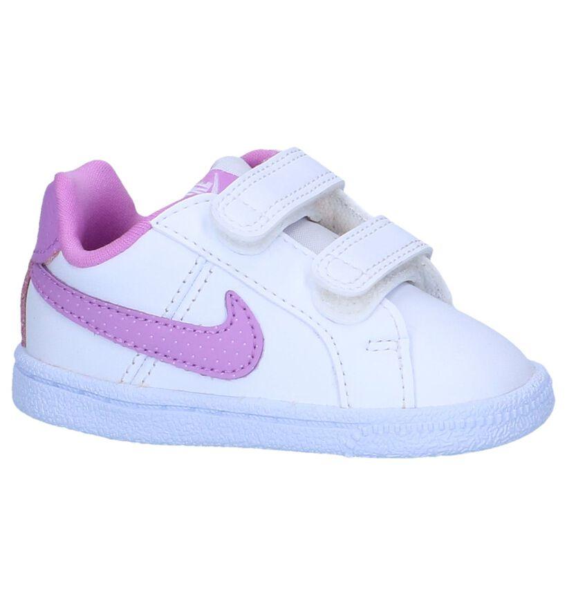 Witte Sneakers Nike Court Royale in kunstleer (249981)