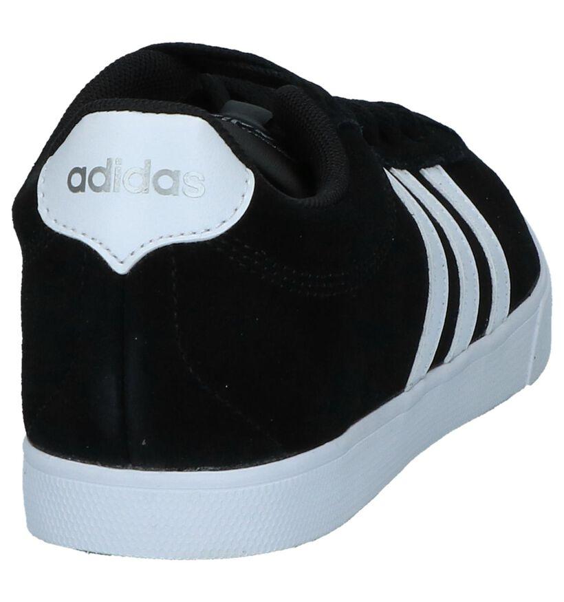 adidas Courtset Baskets en Noir en simili cuir (237043)