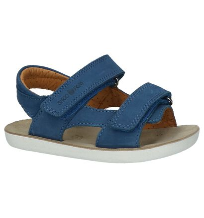 Shoo Pom Sandales en Bleu foncé en cuir (215623)