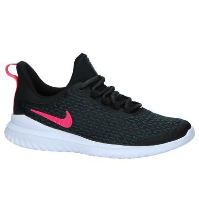 Nike Lunar Hayward Zwarte Lage Sneakers in stof (222211)