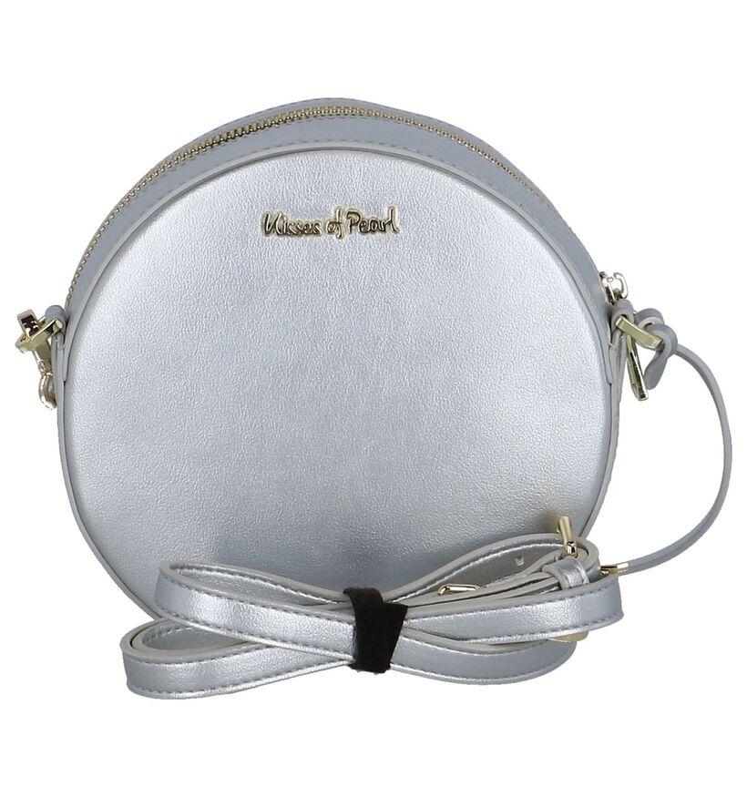 Zilveren Crossbodytas Kisses of Pearl in kunstleer (248251)