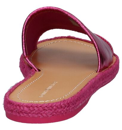 Tommy Hilfiger Nu-pieds plates  (Rose fuchsia), Rose, pdp