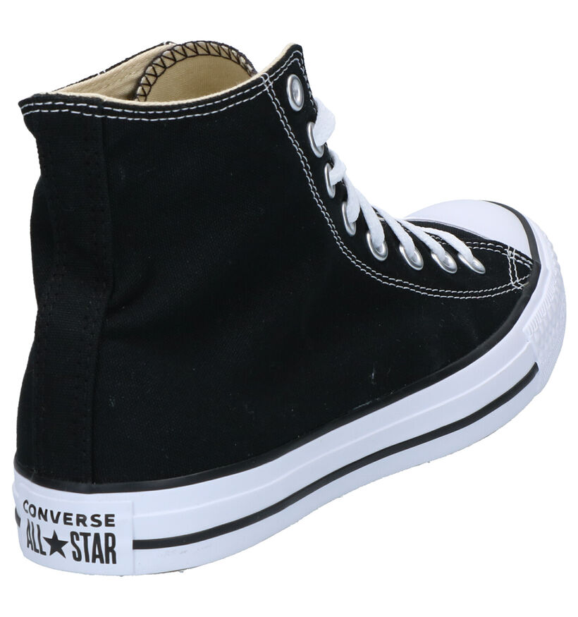 Converse Chuck Taylor All Star Zwarte Sneakers in stof (266462)