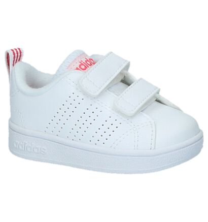 Witte Babysneakers adidas VS Advantage Clean, Wit, pdp