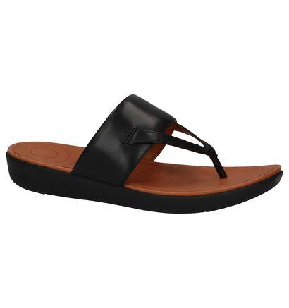 FitFlop Delta Toe-Thong Sandals Zwart, Zwart, pdp