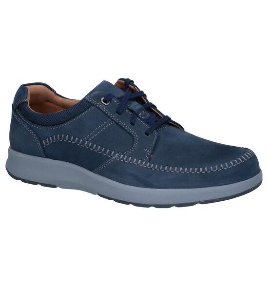 Clarks Un Trail Apron Chaussures à lacets en Bleu