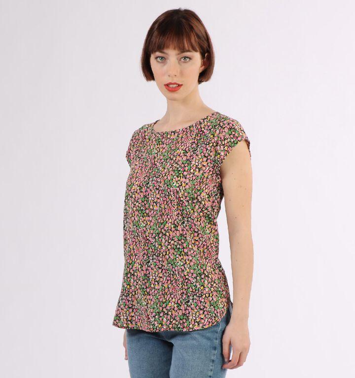 Vila T-shirt en Multicolore