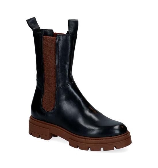 Mjus Zwarte Chelsea Boots