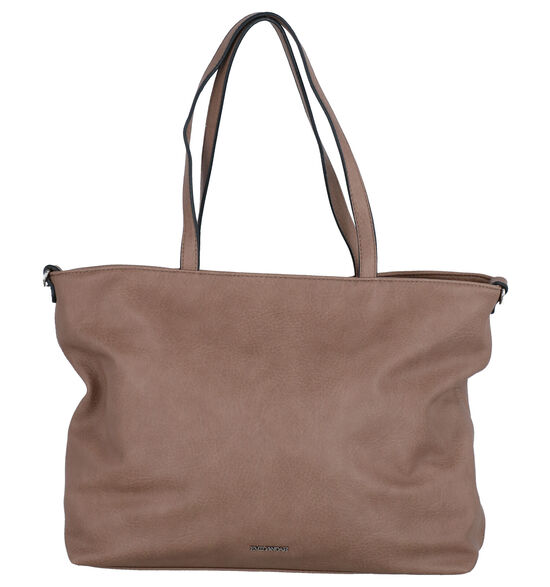Emily & Noah Taupe Bag in bag Shopper