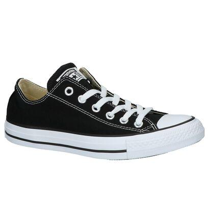 Converse All Star OX Sneakers Zwart in stof (266503)