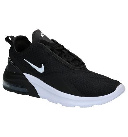 Nike Air Max Motion 2 Baskets en Noir en textile (266630)