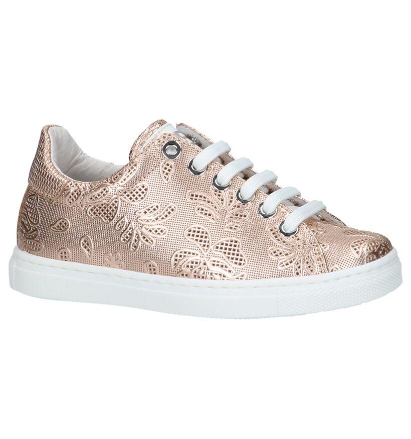 Ciao Bimbi Chaussures basses en Or rose en cuir (217578)