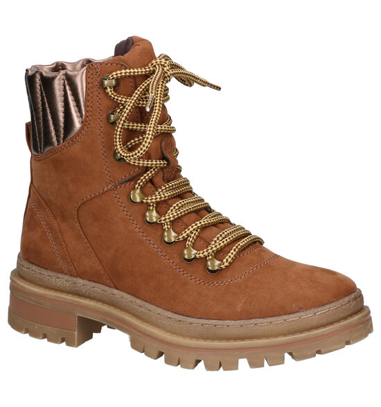 Dazzle Boots Cognac