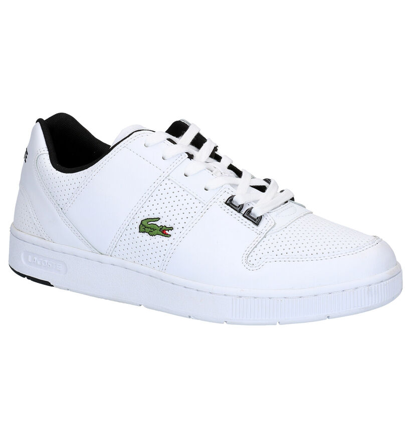 Lacoste Thrill Witte Sneakers in kunstleer (266920)