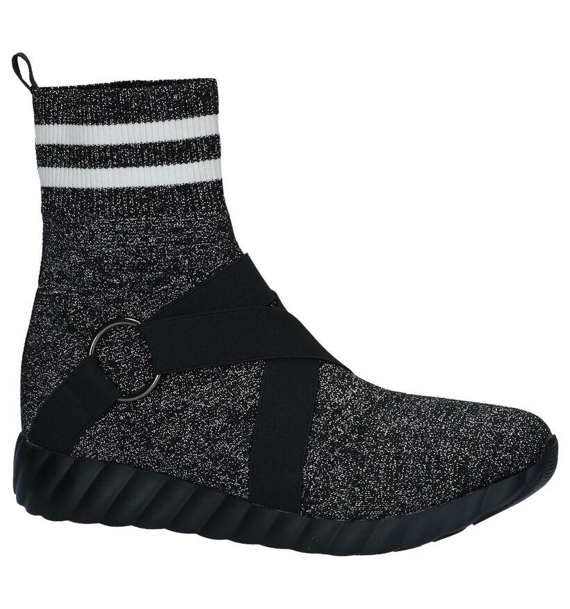 Zilveren Slip-on Sneakers Uma Parker in stof (230533)