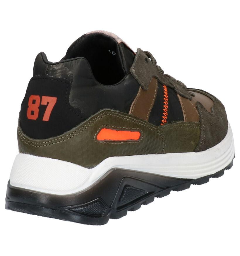 Kipling Beastyboy Kaki Sneakers in stof (261717)