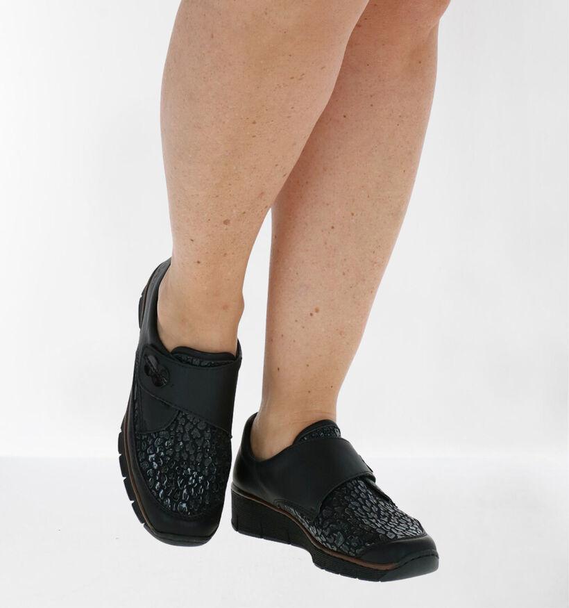 Rieker Chaussures basses en Noir en simili cuir (277633)