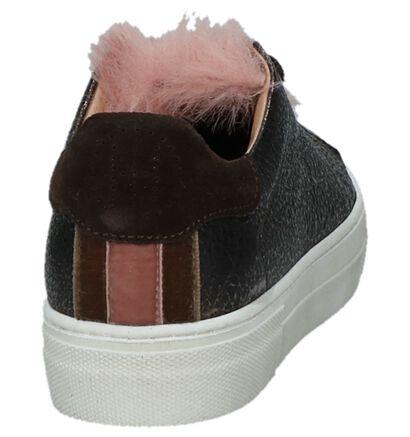 Bronzen Sneakers Hampton Bays Hop in leer (231985)