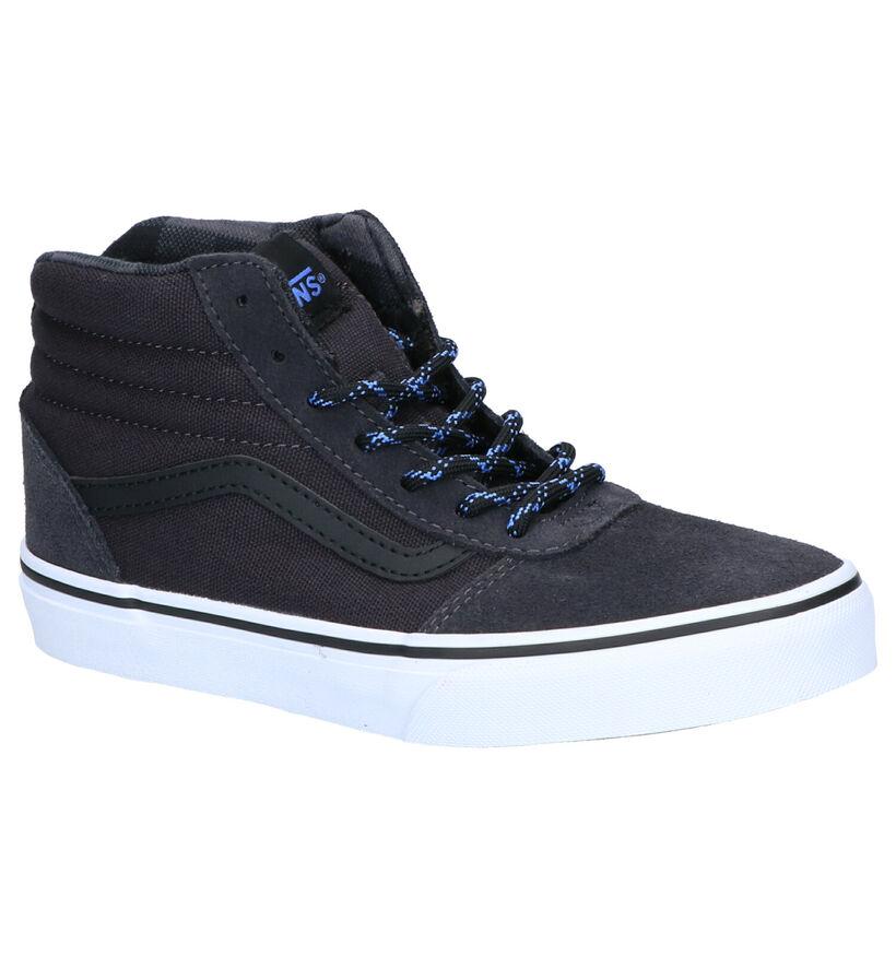 Vans Ward Hi Chaussures de Skate en Gris en daim (264175)
