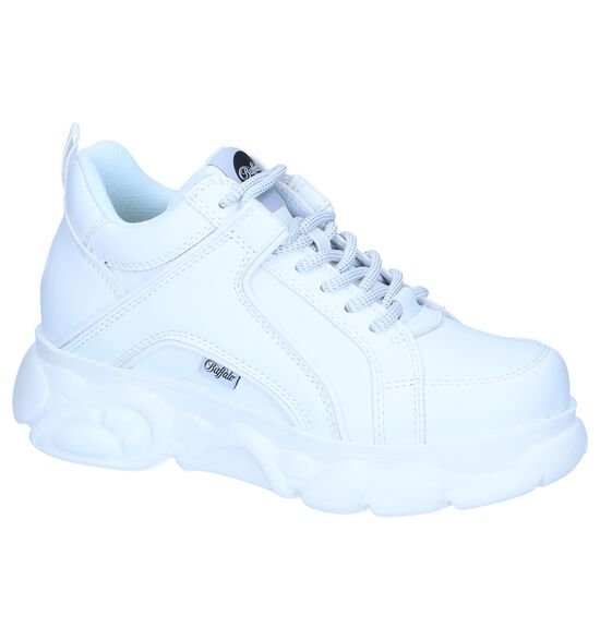 Witte Lage Sneakers Buffalo Corin