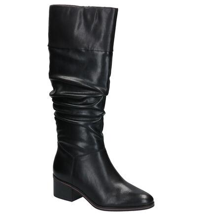Tamaris Zwarte Lange Laarzen in leer (257268)