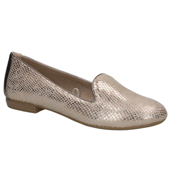 Marco Tozzi Rose Gold Loafers