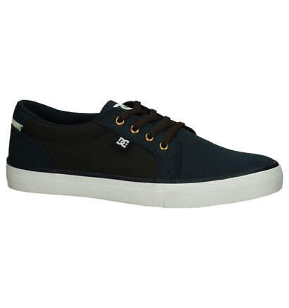 Blauwe/Bruine Skateschoen DC Shoes Council in stof (198608)