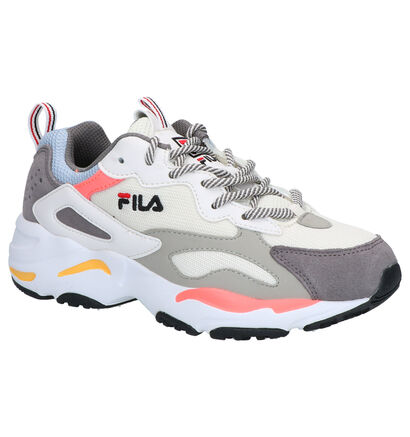 Fila Ray Tracer Grijze Sneakers in daim (253534)