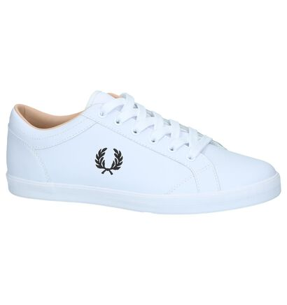 Witte Casual Veterschoenen Fred Perry, Wit, pdp