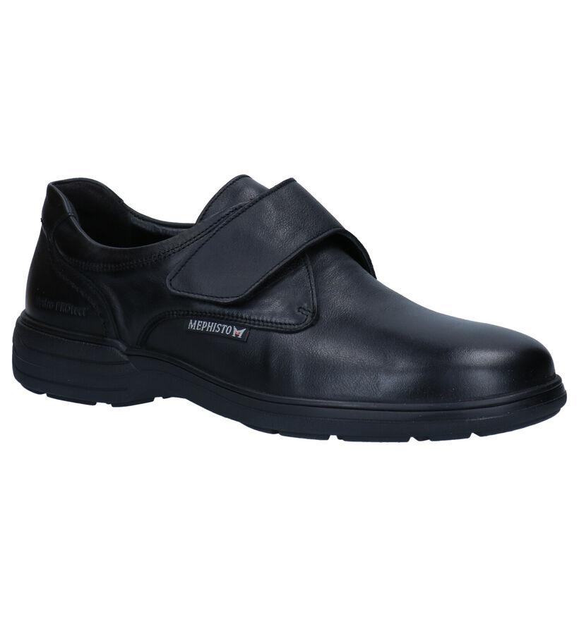 Mephisto Delio Rika Chaussures à velcro en Noir en cuir (281013)