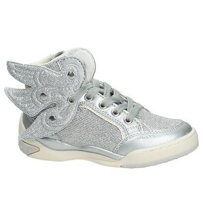 Hoge Sneakers Geox Zilver, Zilver, pdp